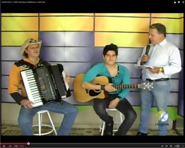 06/06/2015 – Pedro Henrique & Matheus e Júlio Dez