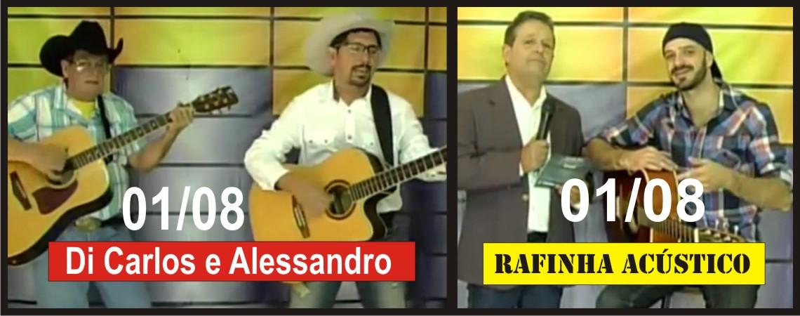 01/08/2015 – Rafinha Acústico e Di Carlos & Alessandro