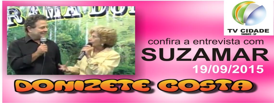 19/09/2015 – Suzamar no Programa Donizete Costa