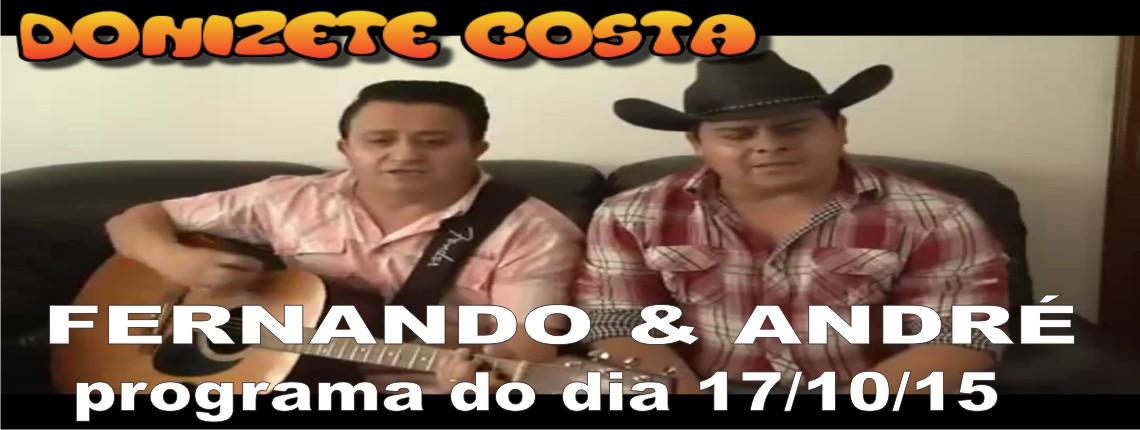 17/10/2015 – Fernando & André