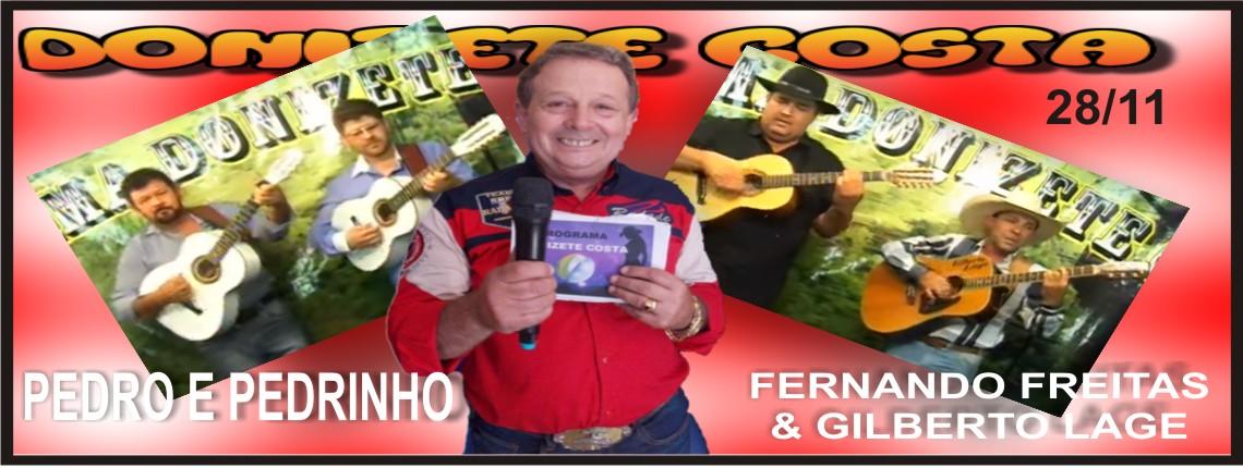 28/11/2015 – Pedro & Pedrinho e Fabiano Freitas & Gilberto Lage