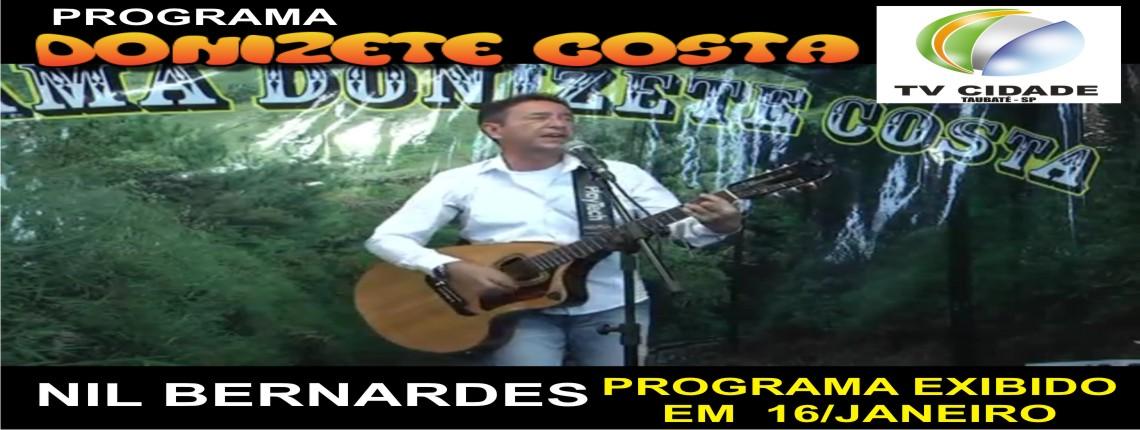 16/01/2016 – Nil Bernardes no Prog Donizete Costa