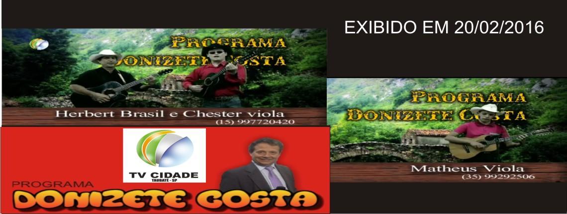 20/02/2016 – Matheus Viola e Hebert Brasil & Chester Viola