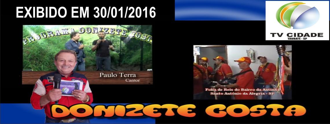 30/01/2016 – Paulo Terra e Folia de Reis do bairro da Antinha – Santo Antônio da Alegria – SP