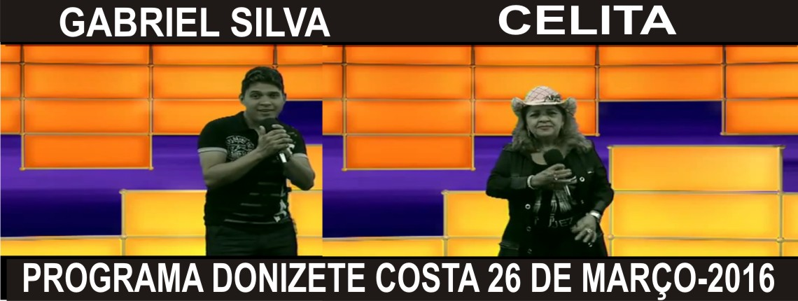 26/03/2016 Gabriel Silva e Celita