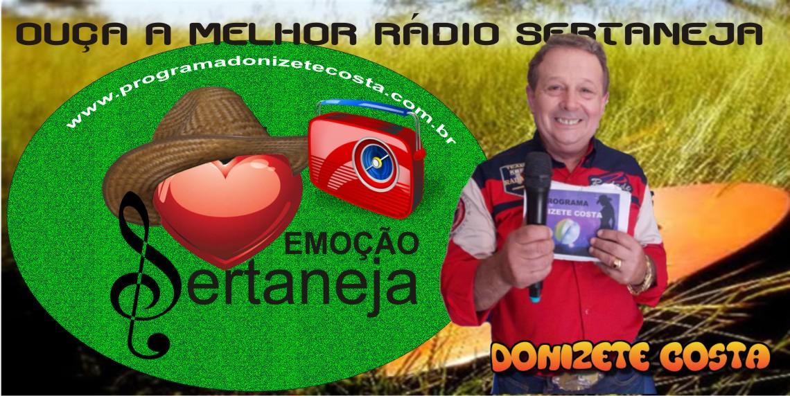 Rádio Emoção Sertaneja – o sucesso da internet