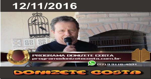 12/11/2016 – Louro Lourenço, Eloy Álvares e Márcia Menezes