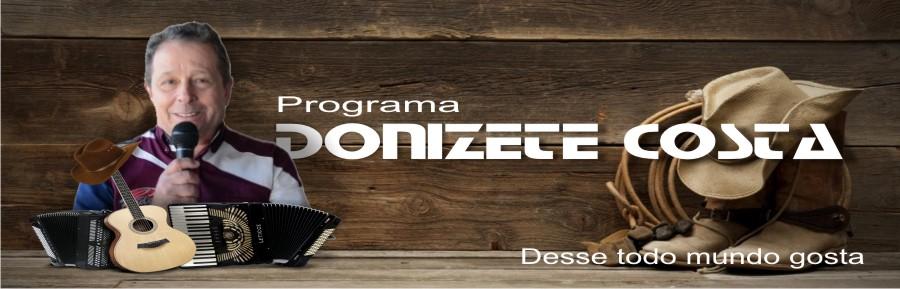 Programa Donizete Costa