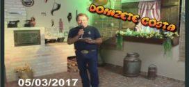 Programa Donizete Costa – 05/03/2017
