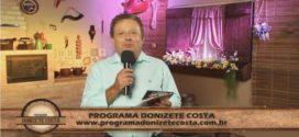 Programa Donizete Costa – 02/04/2017