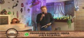 Programa Donizete Costa – 28/05/2017