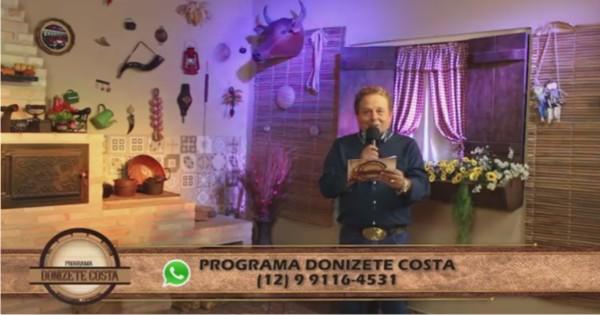 Programa Donizete Costa – 18/06/2017