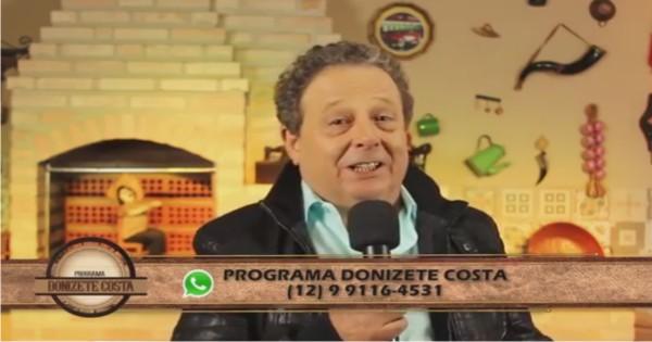 Programa Donizete Costa – 25/06/2017