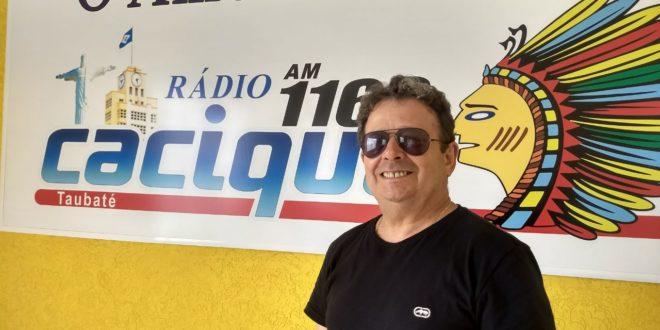 Donizete Costa na Rádio Cacique Taubaté